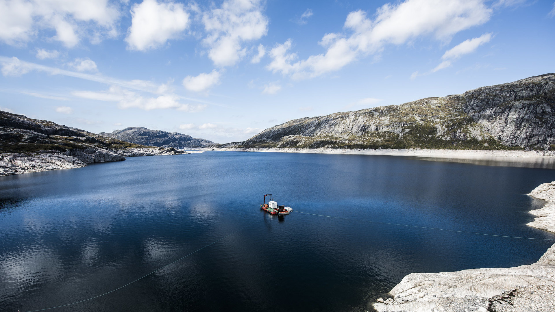 vann natur båt