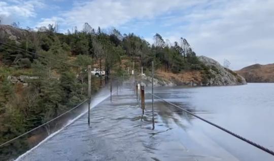 overløp, kraftstasjon, vann