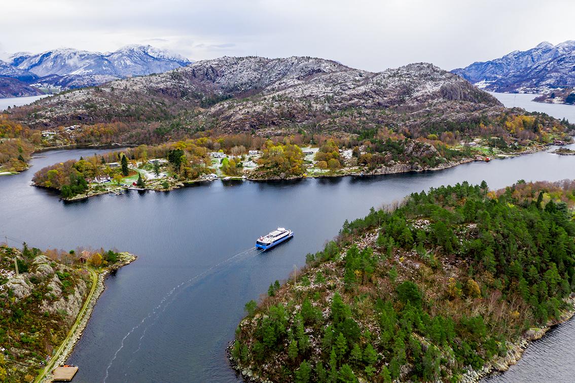 Foto: Rødne Fjord Cruise/Morten Sivertsen