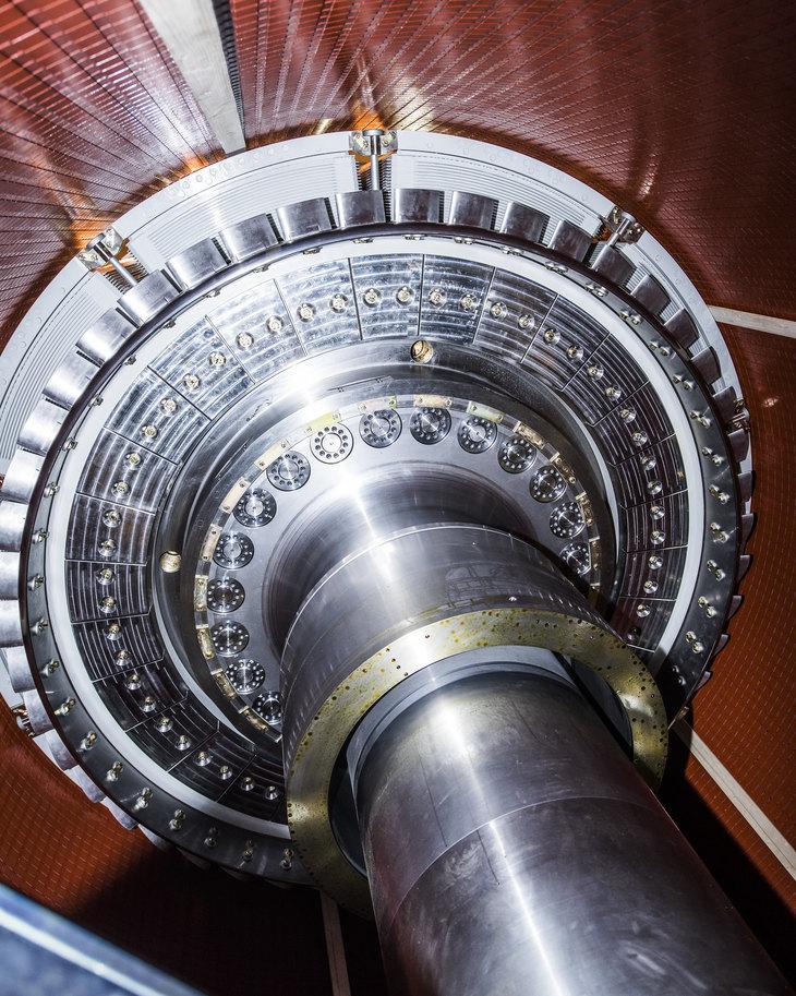 Illustrasjon turbin