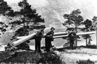 Foto av arbeid i Flørli