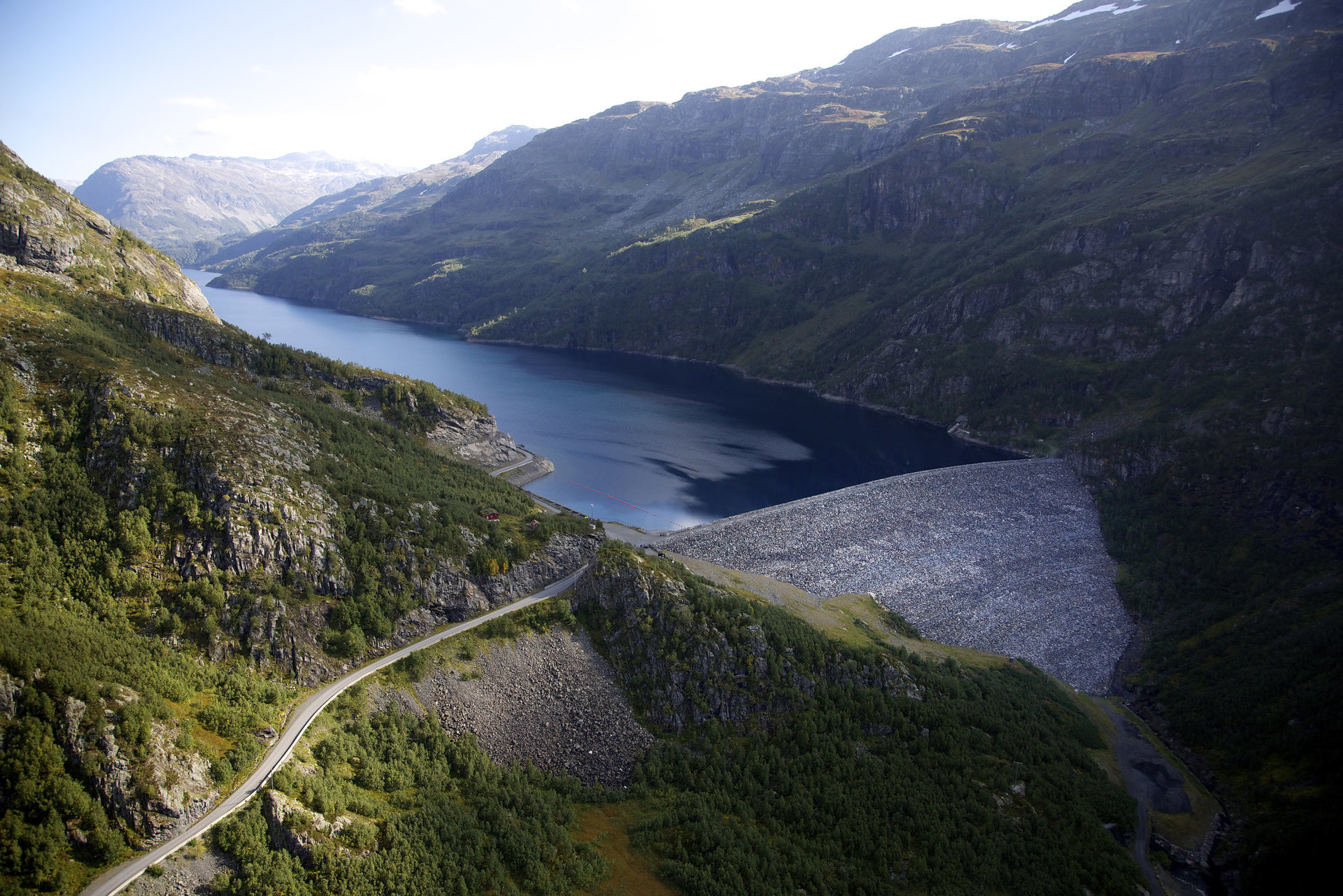 Anleggene i Røldal-Suldal Kraft blir nå en del av Lyse Kraft DA. (Foto: Lise Bjelland)