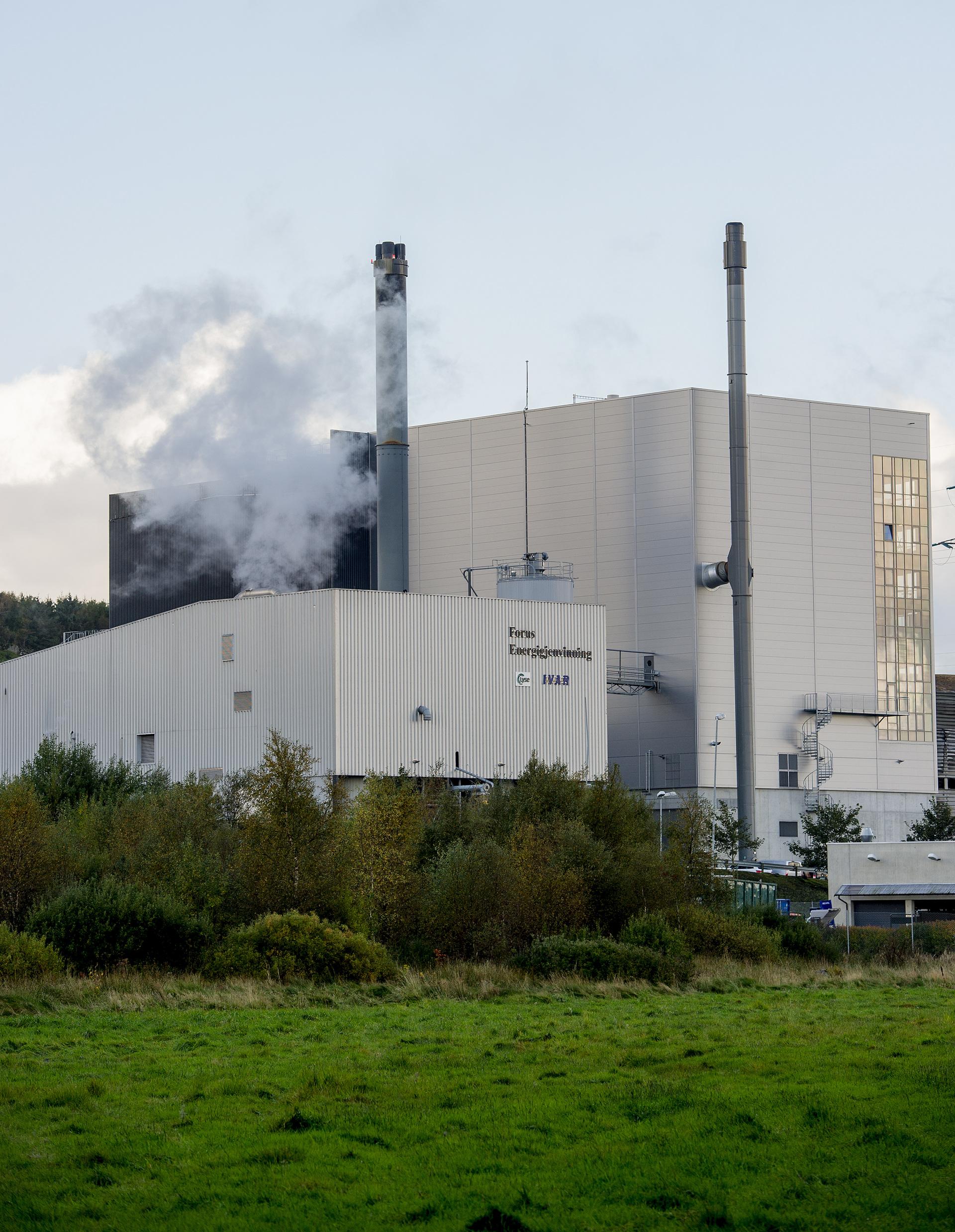 Forus Energigjenvinning, foto: IVAR