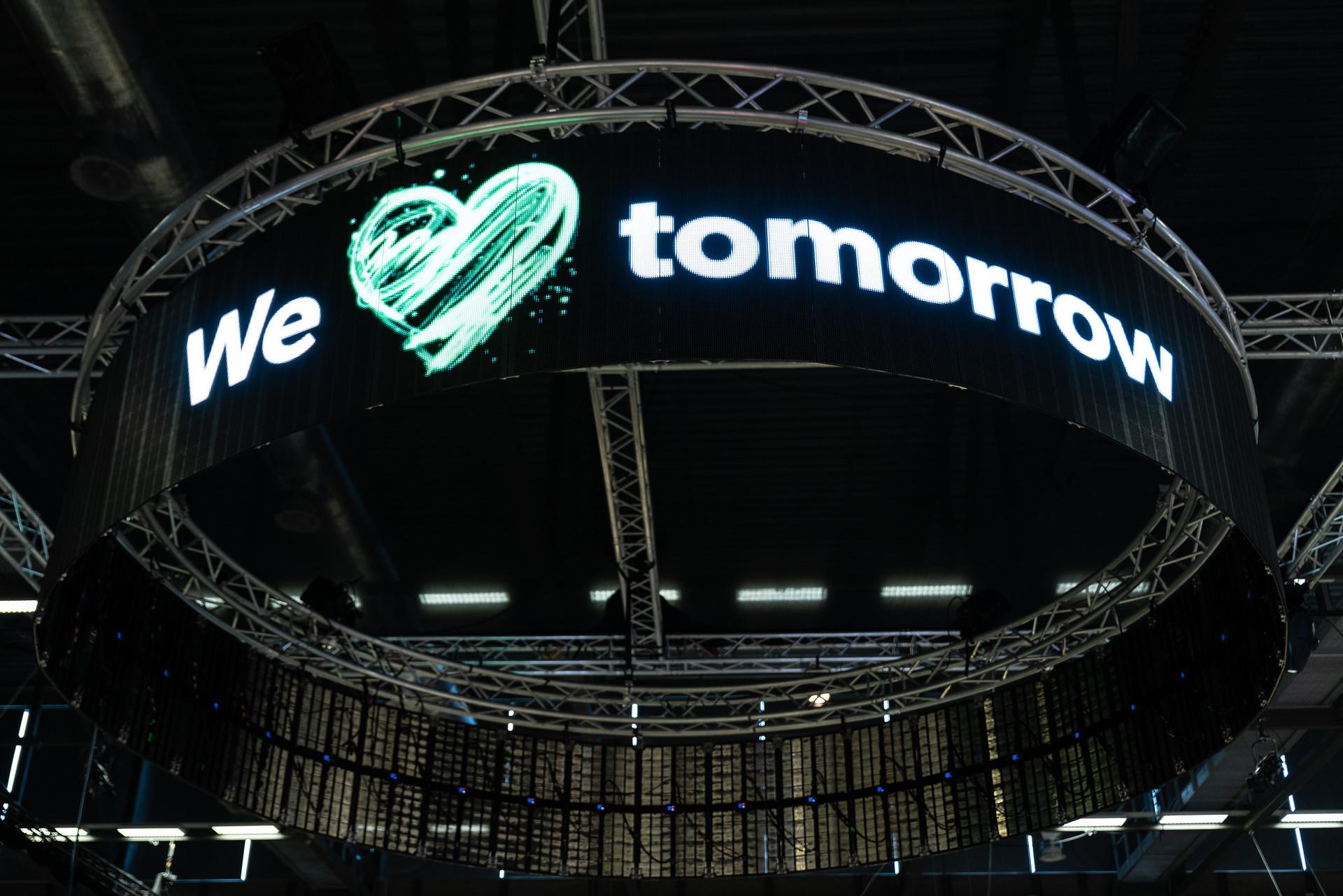 We love tomorrow