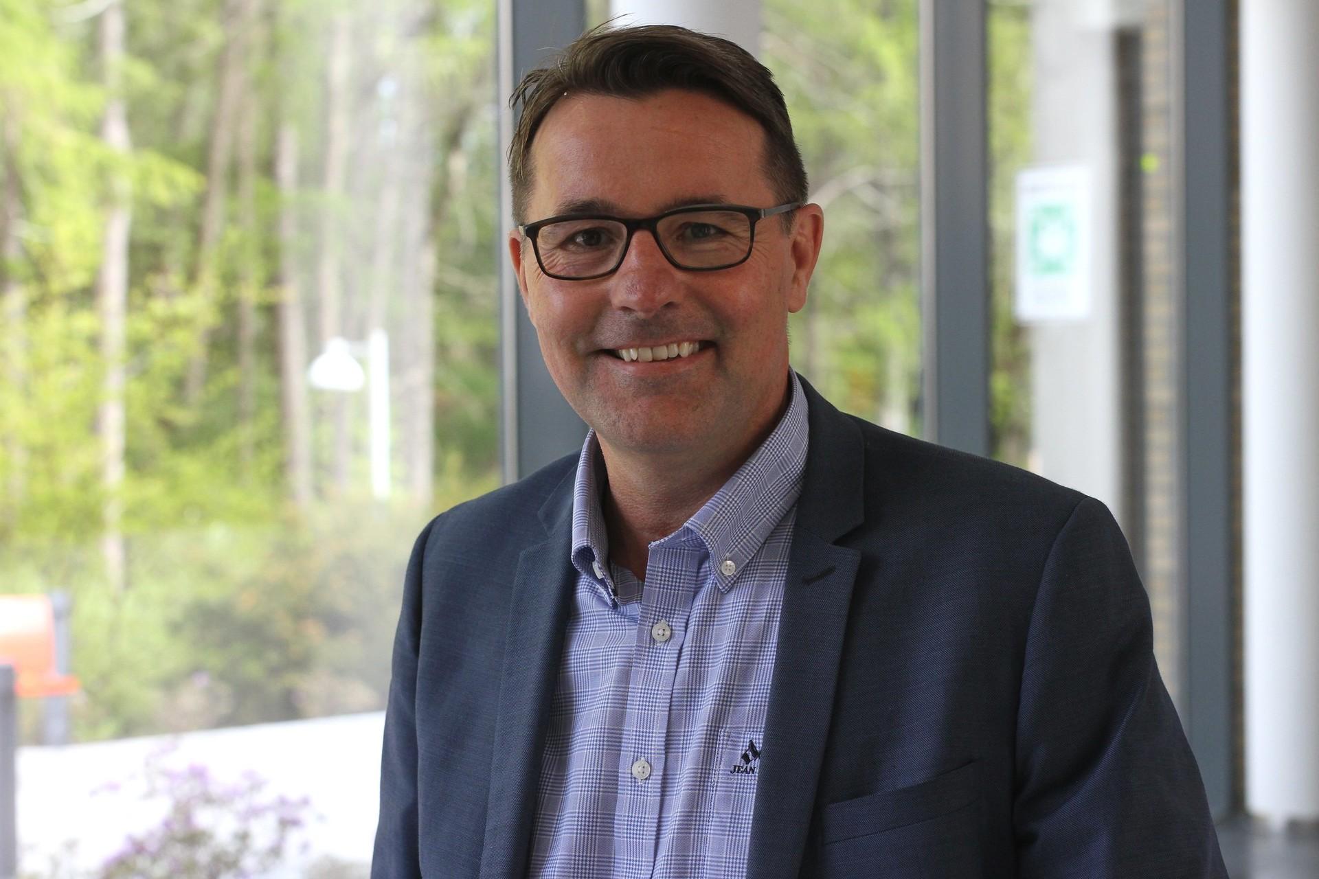 Stig Finnerud, rekrutteringsansvarlig HR