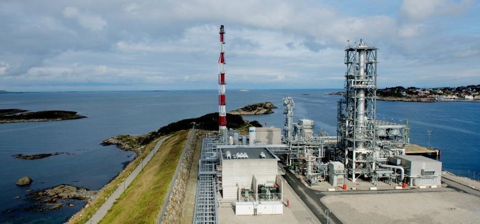 LNG-anlegget i Risavika