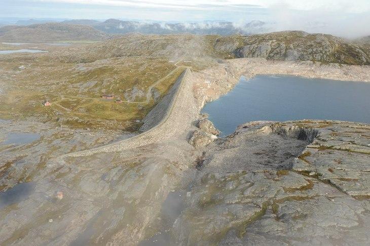 Steinbruddet i Lyngsvatn