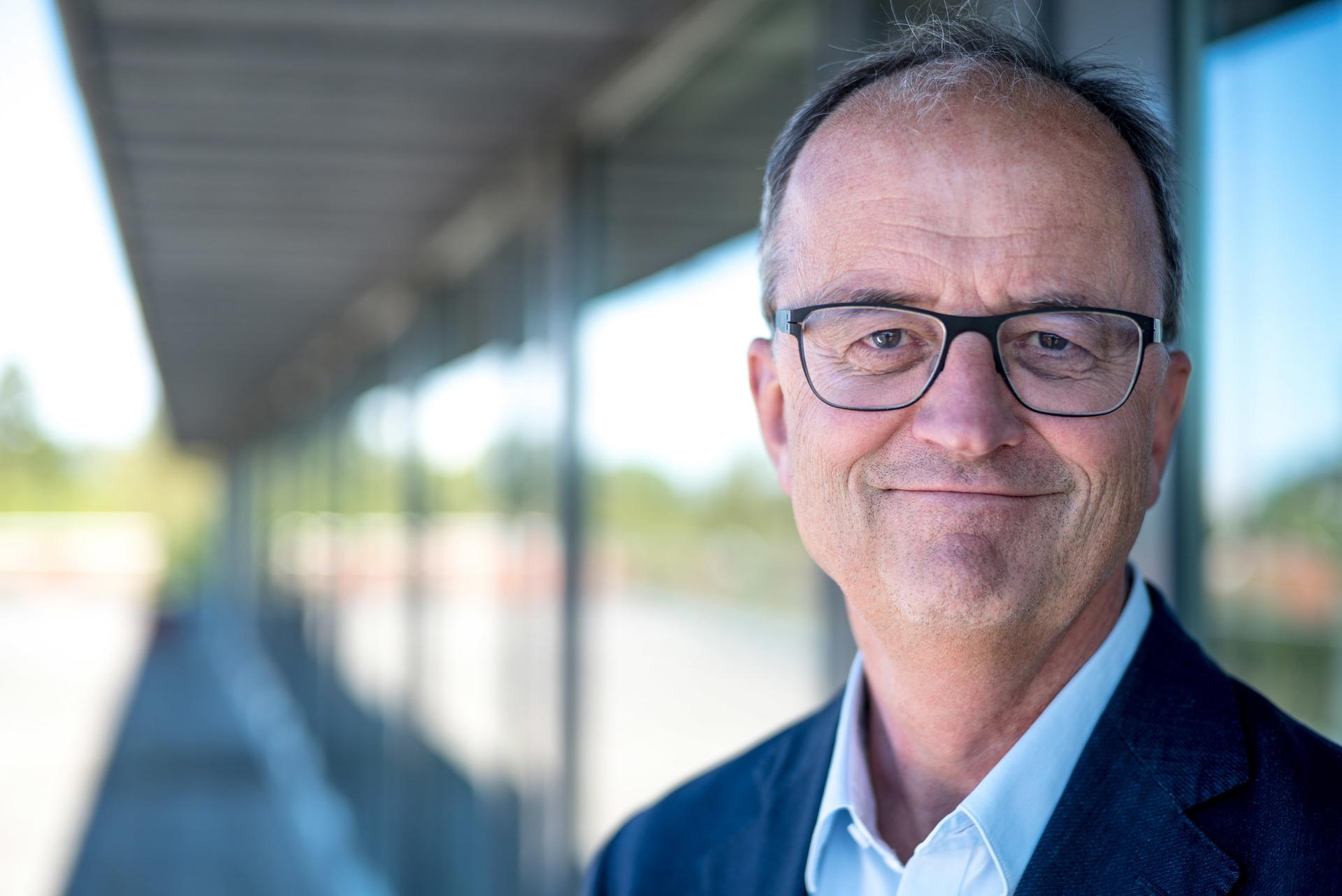 Konsernsjef i Lyse, Eimund Nygaard.
