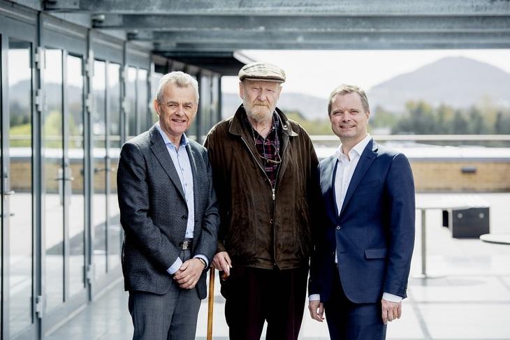 De tre styrelederne gjennom 20 år.