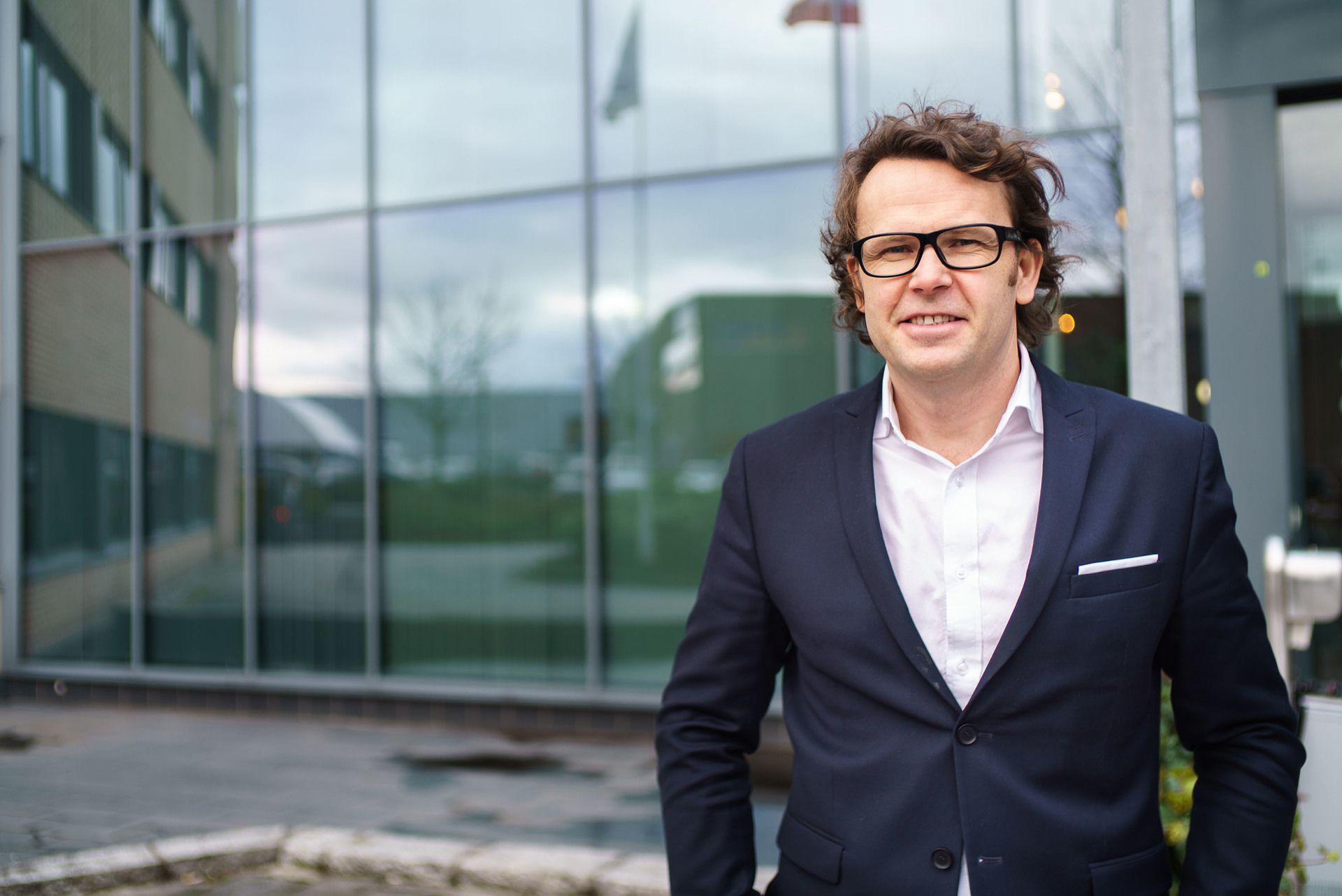 Påtroppende administrerende direktør i Altibox, Thomas Skjelbred