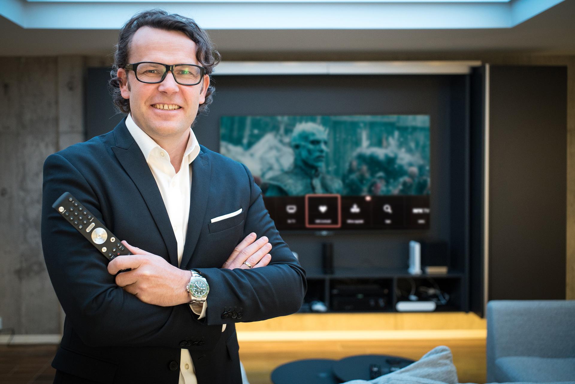 Bilde av administrerende direktør Thomas Skjelbred i Altibox.