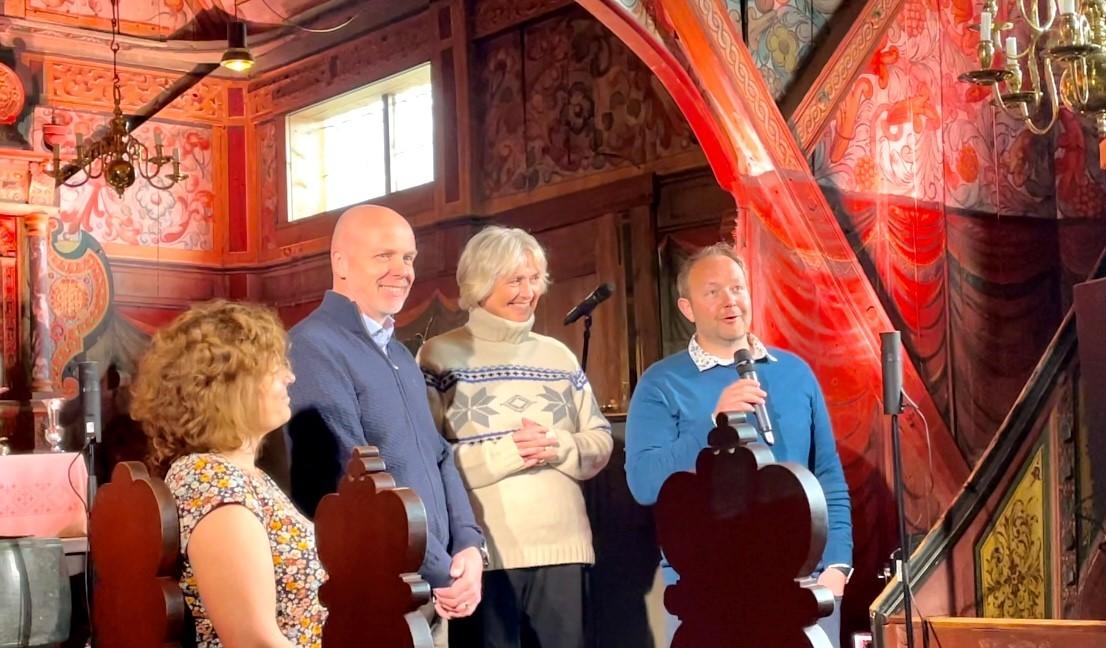 Sponsorer og arrangører i Røldal stavkirke