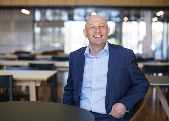 Knut Underbakke, rådmann i Sola kommune, har lang erfaring med tjenester og kommunale budsjetter.